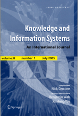 KNOWLEDGE AND INFORMATION SYSTEMS - KAIS [1,2,3,4,5,6,7]