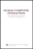HUMAN-COMPUTER INTERACTION (HUM-COMPUT INTERACT)