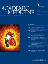 ACADEMIC MEDICINE - Journal of the Association of American Medical Colleges