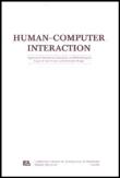 HUMAN-COMPUTER INTERACTION (HUM-COMPUT INTERACT)