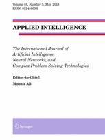 Springer Nature APPLIED INTELLIGENCE